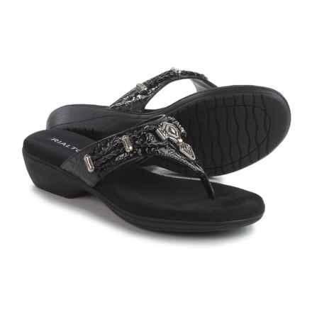 Rialto Kismet Sandals (For Women) in Black - Closeouts