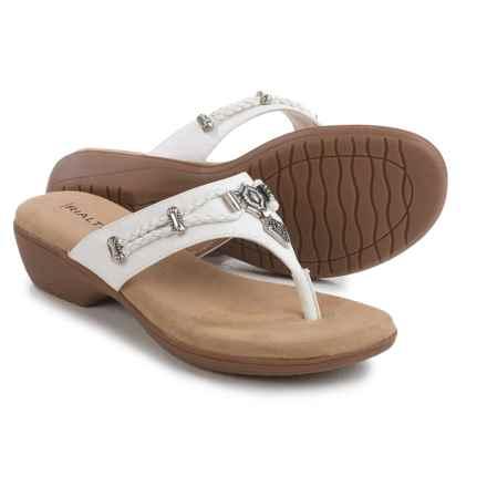 Rialto Kismet Sandals (For Women) in White - Closeouts
