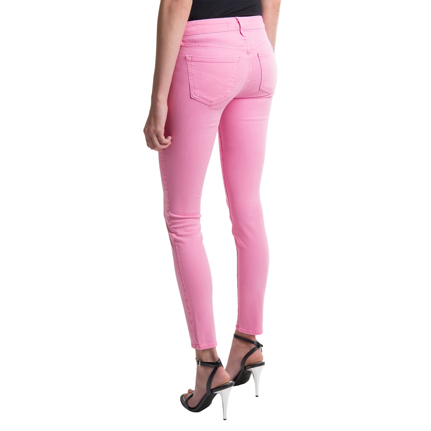 Skinny Jeans For Women Colored Red Black