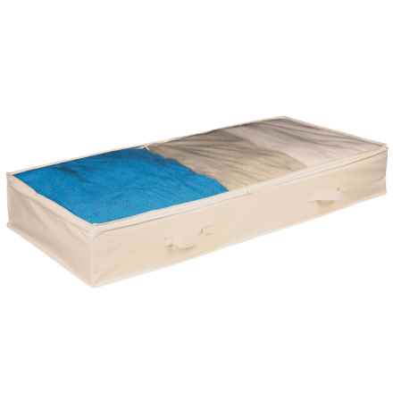 Richards Homewares Expressive Home Under-Bed Storage Bag in Ivory - Closeouts