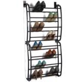 Richards Homewares Over-the-Door Shoe Rack - 24 Capacity