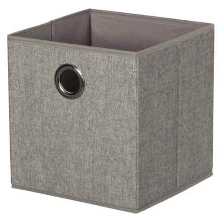 Richards Homewares Storage Cubes - Set of 2 in Grey Arrow - Closeouts
