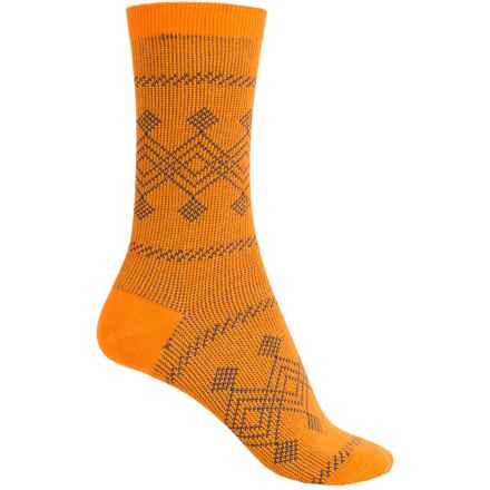 Richer Poorer Bovary Socks - Crew (For Women) in Mustard - Closeouts