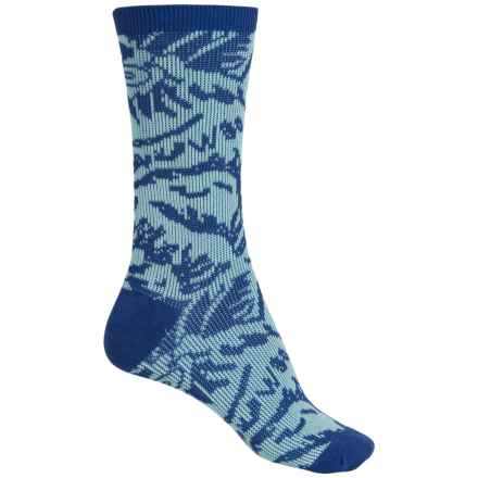 Richer Poorer Crete Double Cylinder Socks - Crew (For Women) in Blue - Closeouts