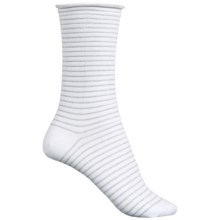 Richer Poorer Hari Socks - Crew (For Women) in White - Closeouts
