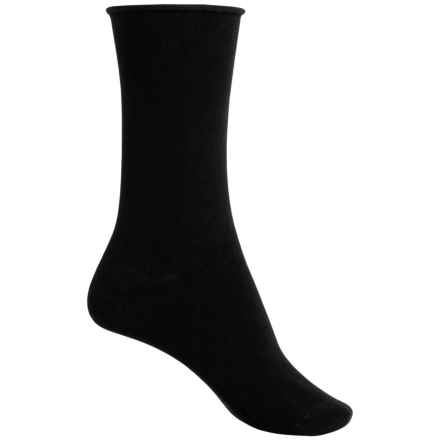 Richer Poorer Helena Socks - Crew (For Women) in Black - Closeouts