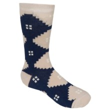 Richer Poorer Prep Socks - Crew (For Boys) in Navy - Closeouts