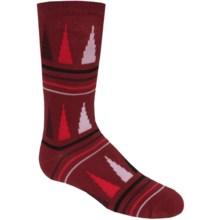 Richer Poorer Swindler Socks (For Big Boys) in Red - Closeouts