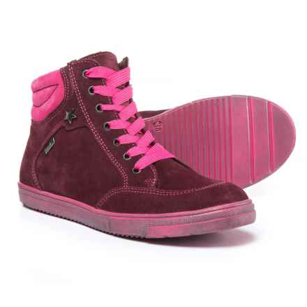 Richter Hydrovelour Sneakers - Waterproof, Suede (For Girls) in 7401 Port/Fucshia - Closeouts