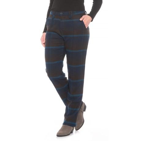 Richville Plaid Pants - Slim Fit (For Women)