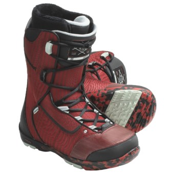 Ride Deuce Snowboard Boots (For Men) in Red