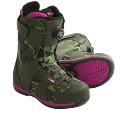 Ride Sage Snowboard Boots (For Women) in Camo
