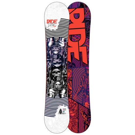 Ride Snowboards 2012 DH2 Snowboard in 155 Graphic