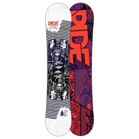 Ride Snowboards 2012 DH2 Snowboard - Wide in 157 Graphic