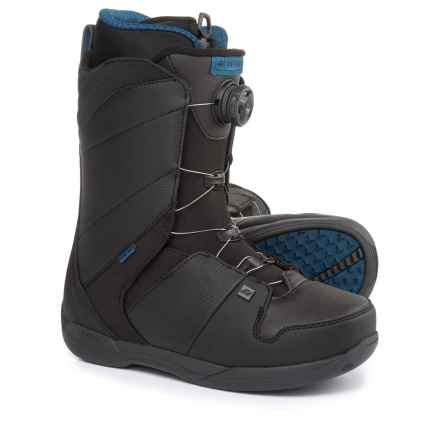Ride Snowboards Anthem BOA® Snowboard Boots (For Men) in Black - Closeouts