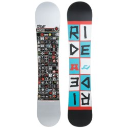 Ride Snowboards Antic Snowboard in White/Red/Black