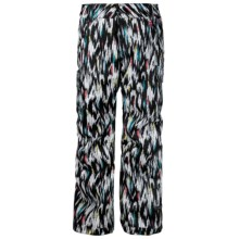 Ride Snowboards Beacon Print Snow Pants - Waterproof, Insulated (For Women) in Ikat Print - Closeouts