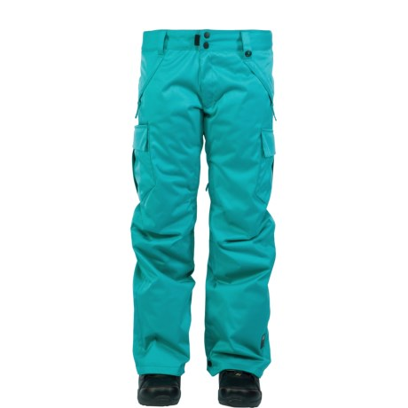 Ride Snowboards Beacon Snow Pants - Waterproof, Insulated (For Women) in Aqua Mini Dot