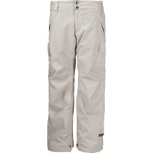 Ride Snowboards Beacon Snow Pants - Waterproof, Insulated (For Women) in White Ice - Closeouts
