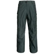 Ride Snowboards Belltown Pants - Waterproof (For Men) in Dark Pine Slub - Closeouts