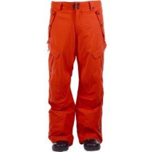 Ride Snowboards Belltown Pants - Waterproof (For Men) in Red Orange - Closeouts