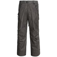 Ride Snowboards Belltown Pants - Waterproof (For Men) in Tweed Photo Print - Closeouts