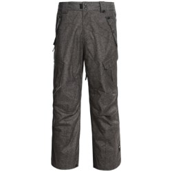 Ride Snowboards Belltown Pants - Waterproof (For Men) in Tweed Photo Print