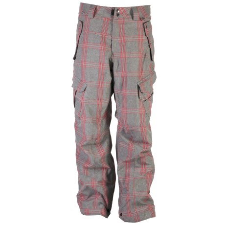 Ride Snowboards Belltown Shell Pants - Waterproof, BOA®-Compatible (For Men) in Faded Plaid Grey