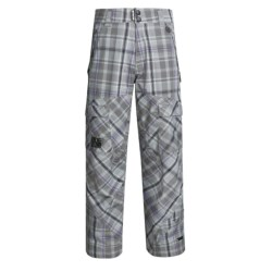 Ride Snowboards Belltown Shell Pants - Waterproof (For Men) in Rip Stop Plaid