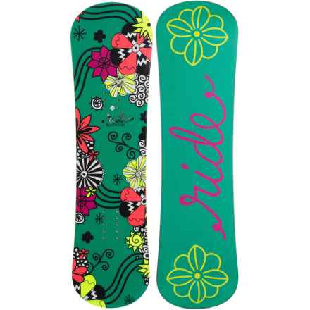 Ride Snowboards Blush Snowboard (For Little and Big Girls) in Green - Closeouts