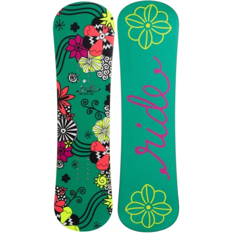 Ride Snowboards Blush Snowboard (For Little and Big Girls) in Green