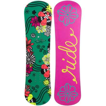 Ride Snowboards Blush Snowboard (For Little and Big Girls) in Pink - Closeouts