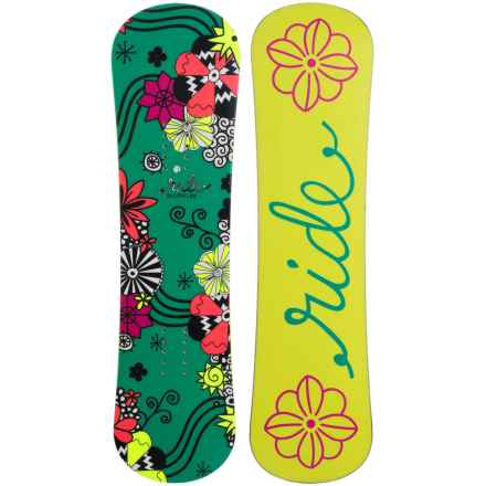 Ride Snowboards Blush Snowboard (For Little and Big Girls) in Yellow - Closeouts