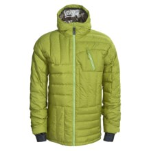 Ride Snowboards Capitol Down Jacket - 500-550 Fill Power (For Men) in Limeade Melange - Closeouts