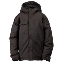 Ride Snowboards Cobra Jacket - Insulated (For Boys) in Black - Closeouts