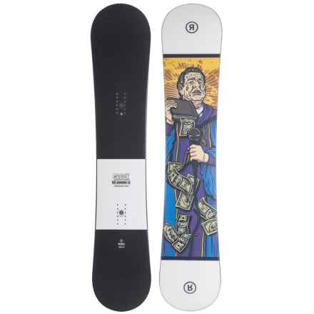Ride Snowboards Crook Snowboard - Wide (For Men) in See Photo - Closeouts