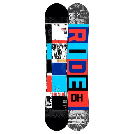 Ride Snowboards DH Snowboard in 155 Graphic