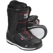 Ride Snowboards Flight Snowboard Boots (For Men) in Black - Closeouts