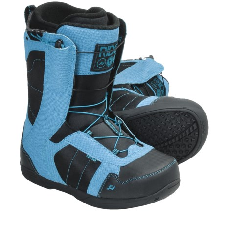 Ride Snowboards Flight Snowboard Boots (For Men) in Pacific Blue