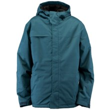 Ride Snowboards Gatewood Jacket - Insulated (For Men) in Blue Marine Herringbone - Closeouts