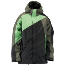 Ride Snowboards Georgetown Shell Jacket - Waterproof (For Men) in Black - Closeouts