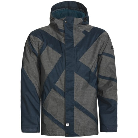 Ride Snowboards Georgetown Shell Jacket - Waterproof (For Men) in Dark Peacock