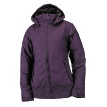Ride Snowboards Greenwood Jacket - Insulated (For Women) in Deep Plum - Closeouts