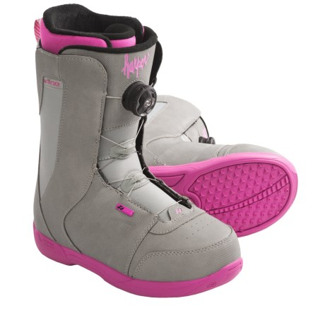 Ride Snowboards Harper BOA® Snowboard Boots (For Women) in Grey