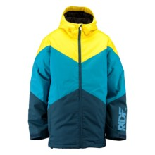 Ride Snowboards Hawthorne Jacket - Insulated (For Men) in Blue Marine Herringbone - Closeouts