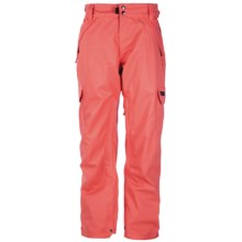 Ride Snowboards Highland Pants - Insulated (For Women) in Coral - Closeouts