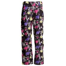 Ride Snowboards Highland Shell Pants (For Women) in Gem Print Black - Closeouts