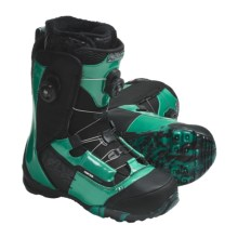 Ride Snowboards Insano Focus Snowboard Boots - BOA® Lacing System (For Men) in Green - Closeouts