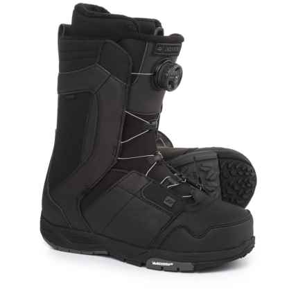 Ride Snowboards Jackson BOA® Coiler Snowboard Boots (For Men and Women) in Black - Closeouts