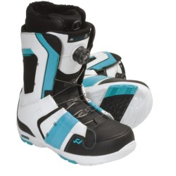 Ride Snowboards Jackson BOA® Coiler Snowboard Boots (For Men) in White